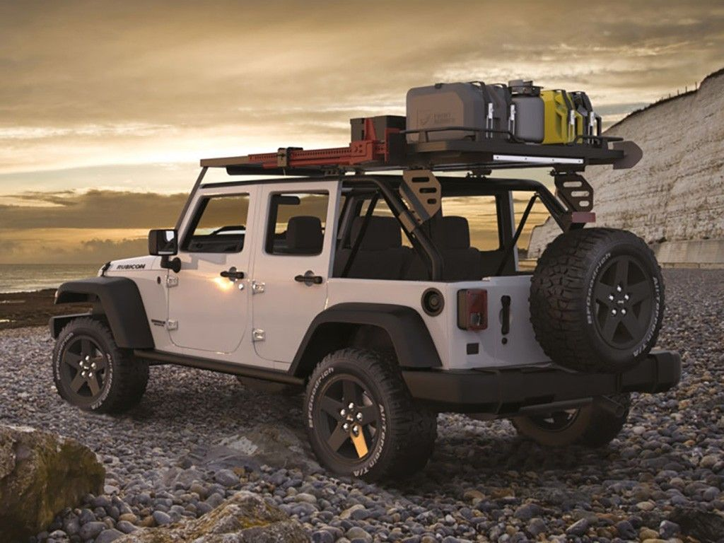 Jeep Wrangler Jku Roof Rack 4 Door Full Cargo Rack Front