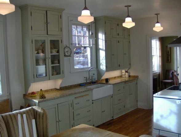 1920s Kitchen On Tiny Budget Bungalow Kitchen 1920s Kitchen Kitchen Cabinet Design