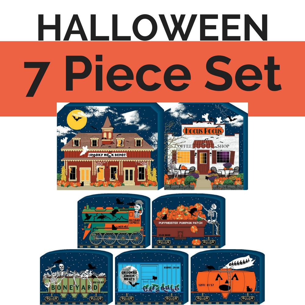 Halloween, SAVE 7 7 PC Set Halloween, Halloween