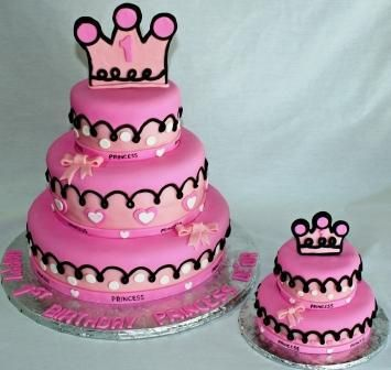 Cute 1st birthday cake Cakes for Kids Girls Pinterest