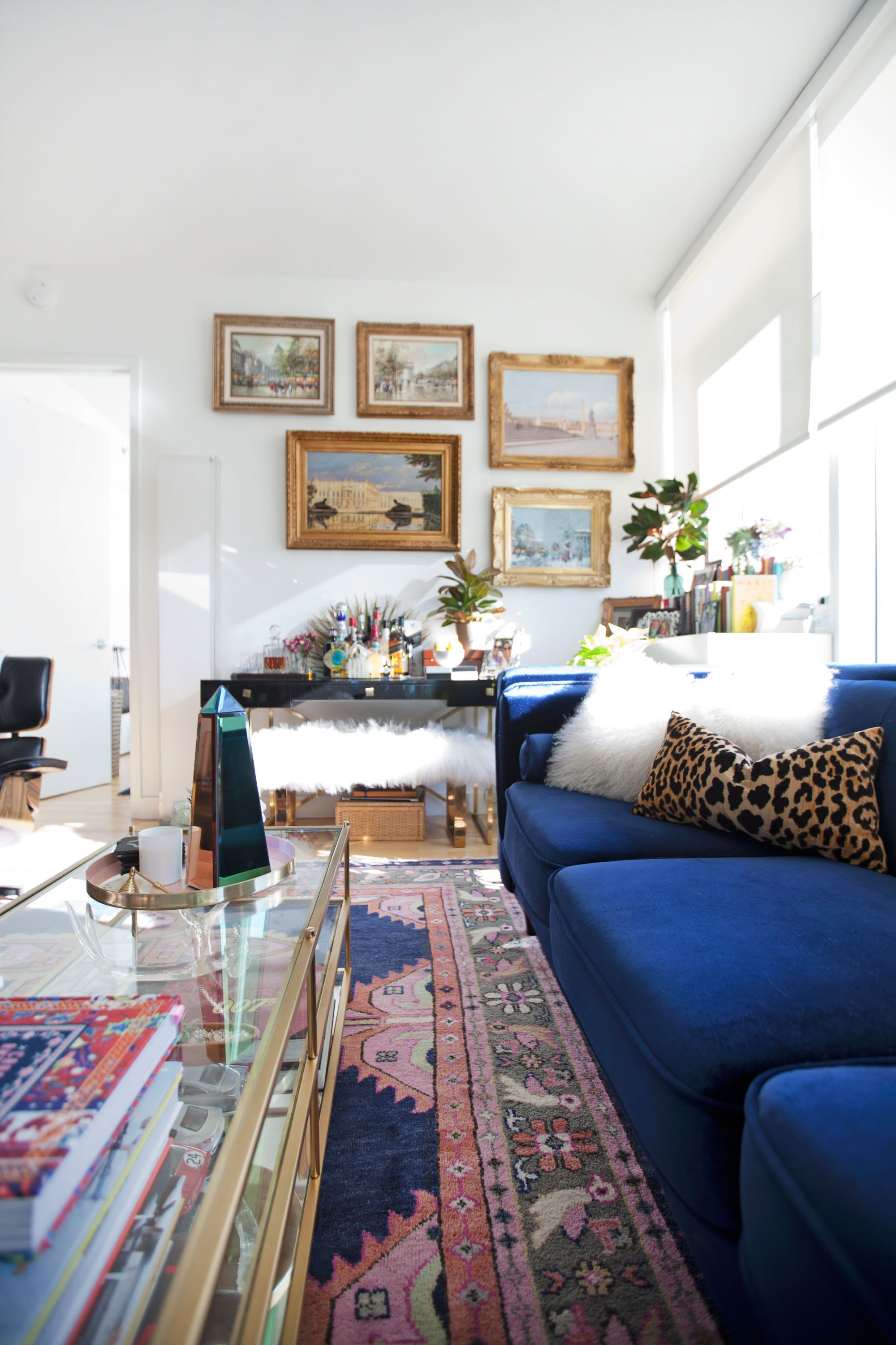 A Traditional New York Apartment Masters Eclectic Maximalism