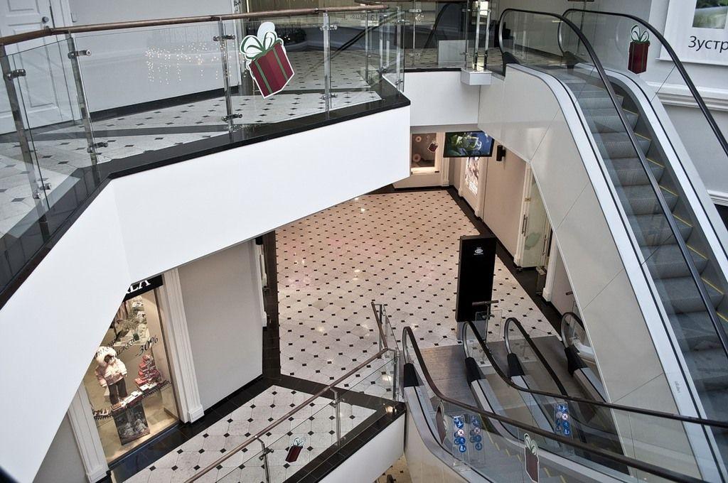 Opera passage - small shopping center near Opera (center). Expensive.