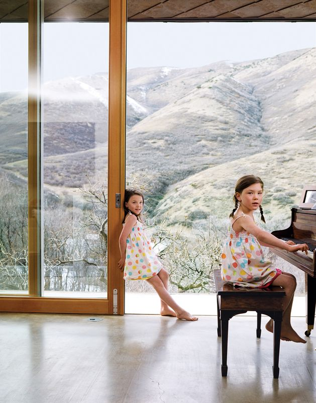 The First Leed Home In Utah Architecture Sustainable Home Rural House