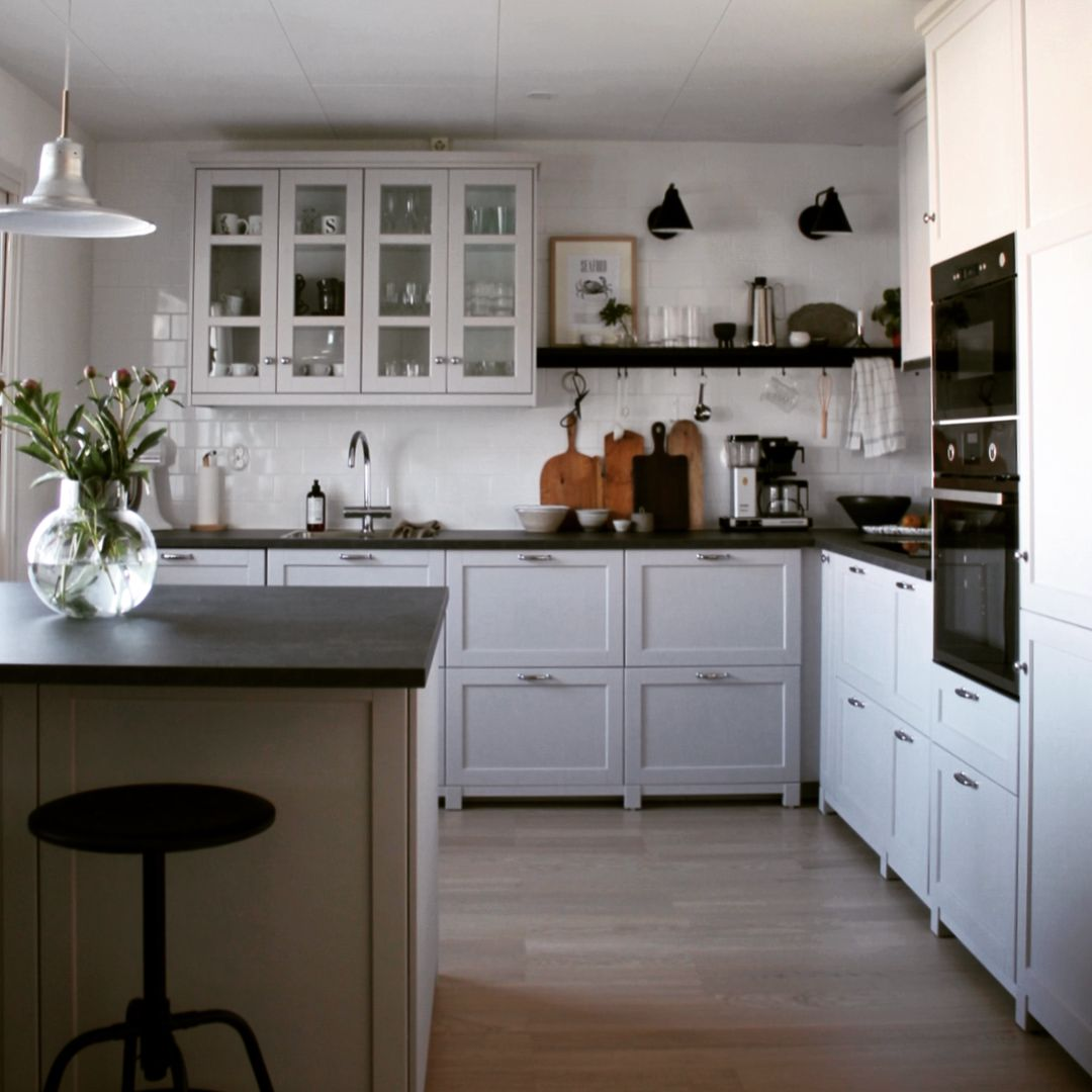 Sara S Kitchen My Clever Colleague Sara Installed A Lerhyttan Grey