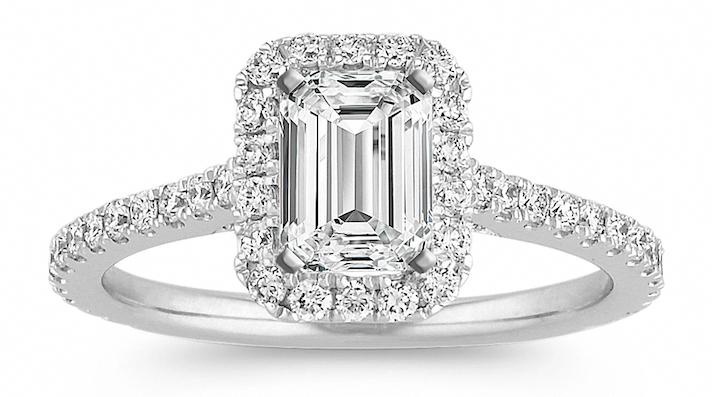 Marquise diamond wedding band set Milgrain bridal promise