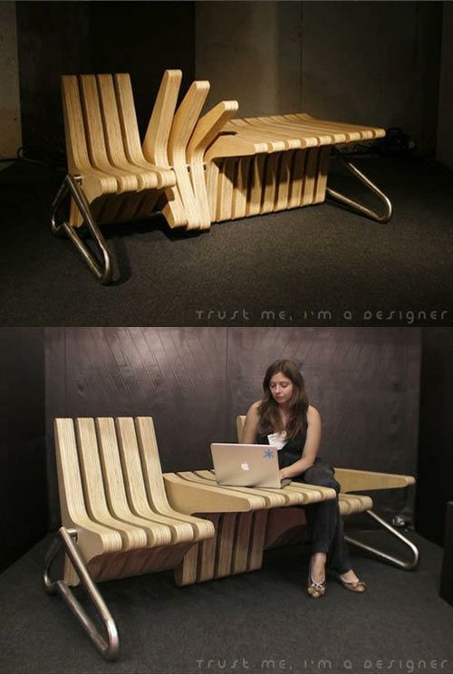 How All Benches Should Be Made It Only Works You Don T Sit On The Edge Of Your Seat