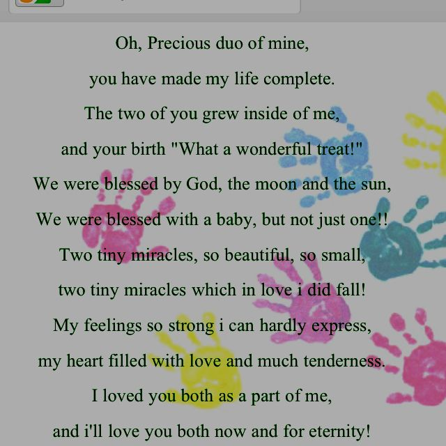Twin Baby Girl Quotes: I Love My Twins