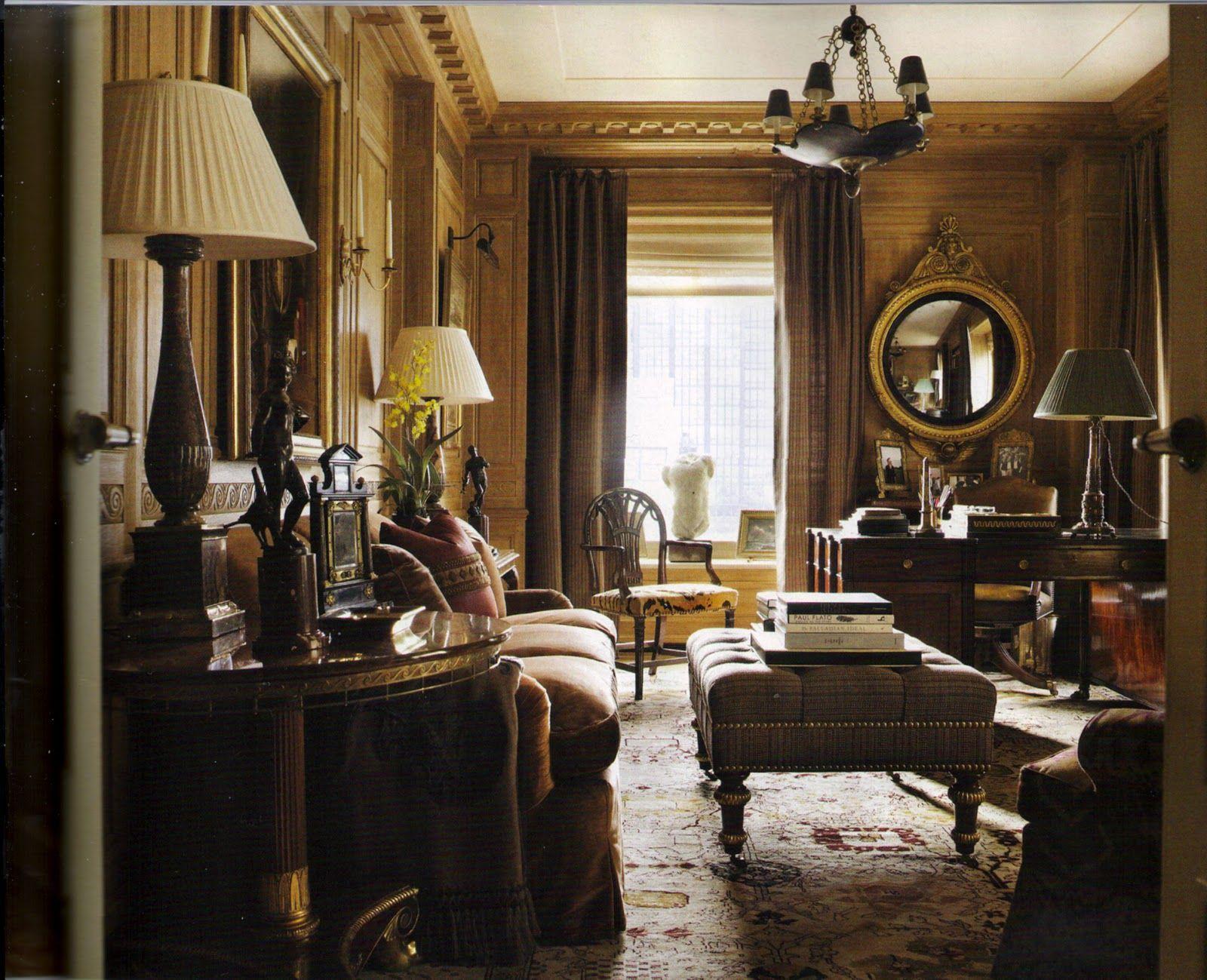 Designer Michael S Smith In Manhattan Home House Design Home