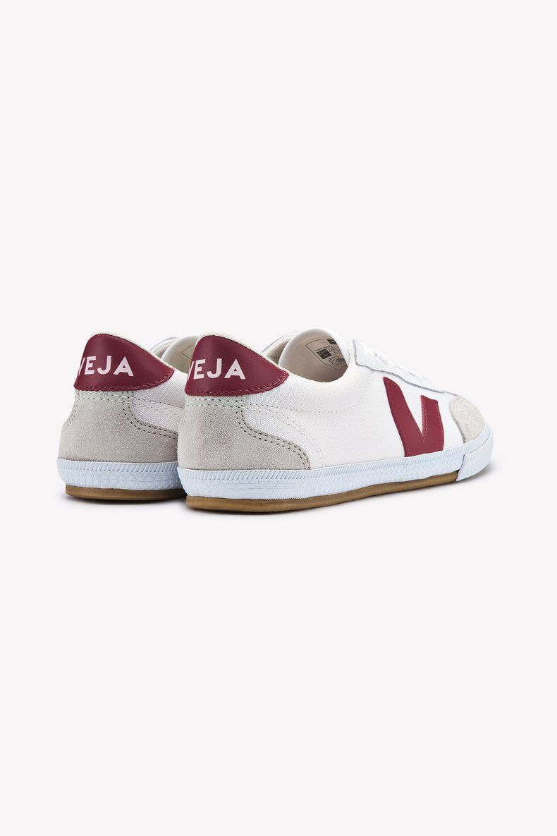 Veja Volley Canvas Sneaker (White