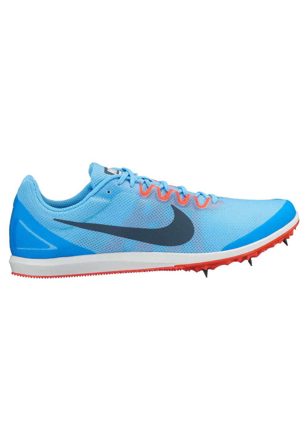 huge discount 5576d b5f6e Nike Zoom Rival D 10 Track Spike - Chaussures pointes pour Homme - Bleu