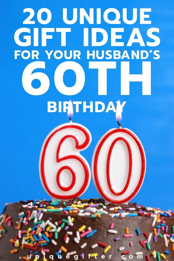 20 Gift Ideas For Your HusbandaEURTMs 60th Birthday