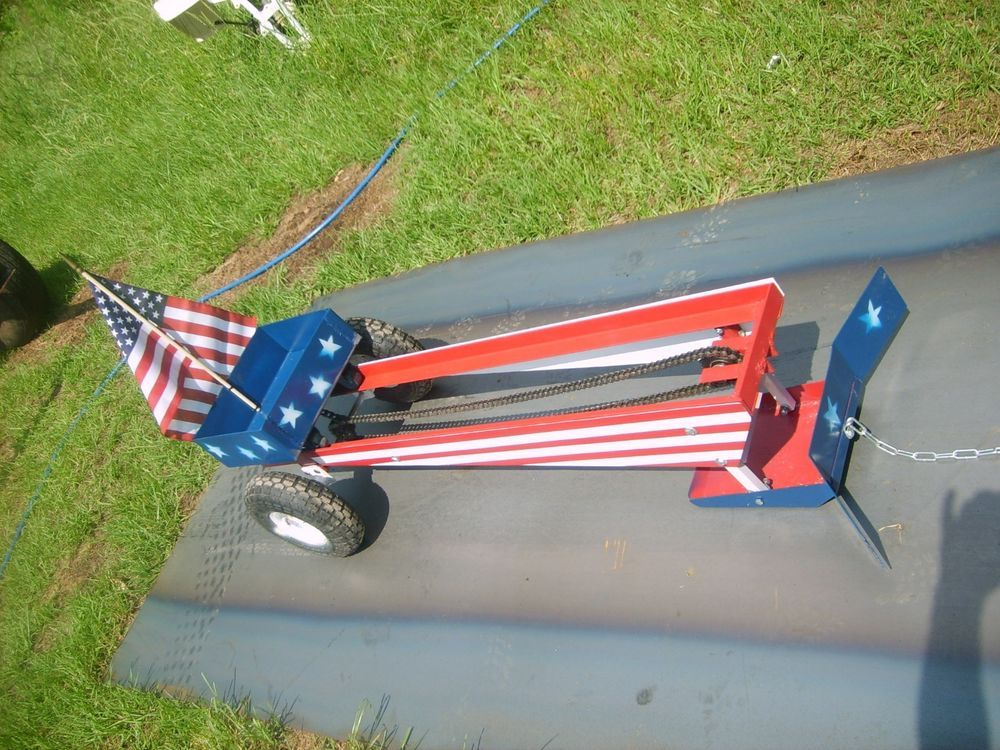 Pedal Tractor Pulling Sled, Pro Chain Drive