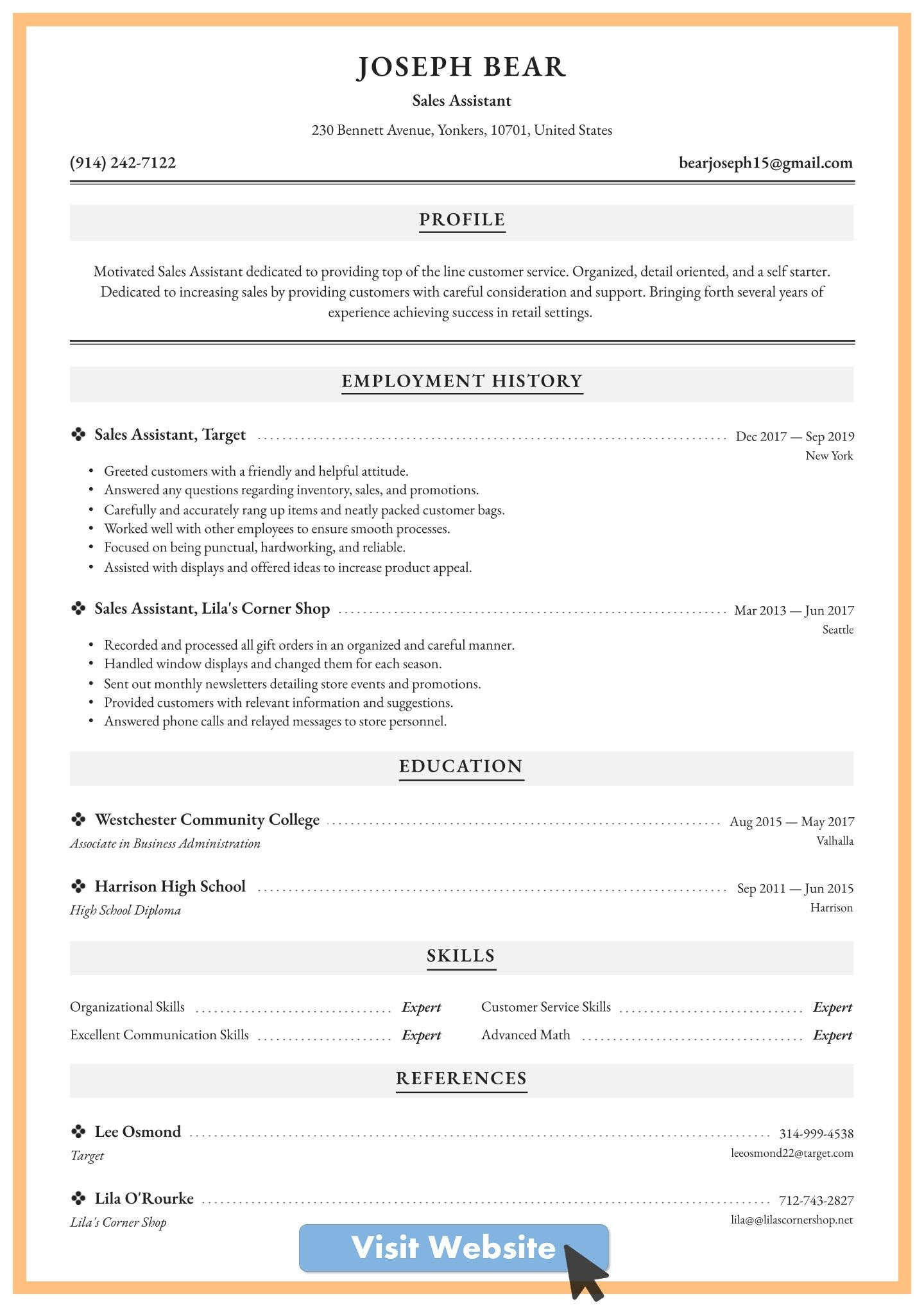 resume template free administrative assistant in 2020