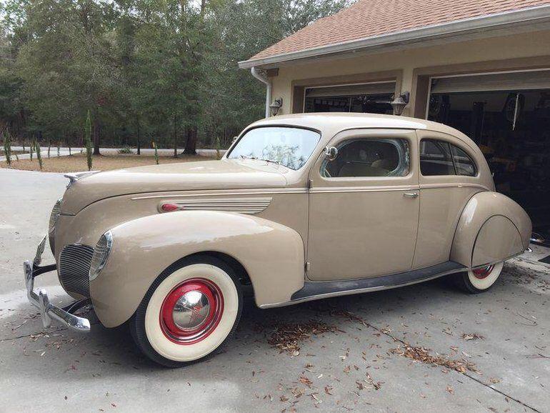 1938 Lincoln Zephyr I Don T Often See A 2 Door Sedan Cars