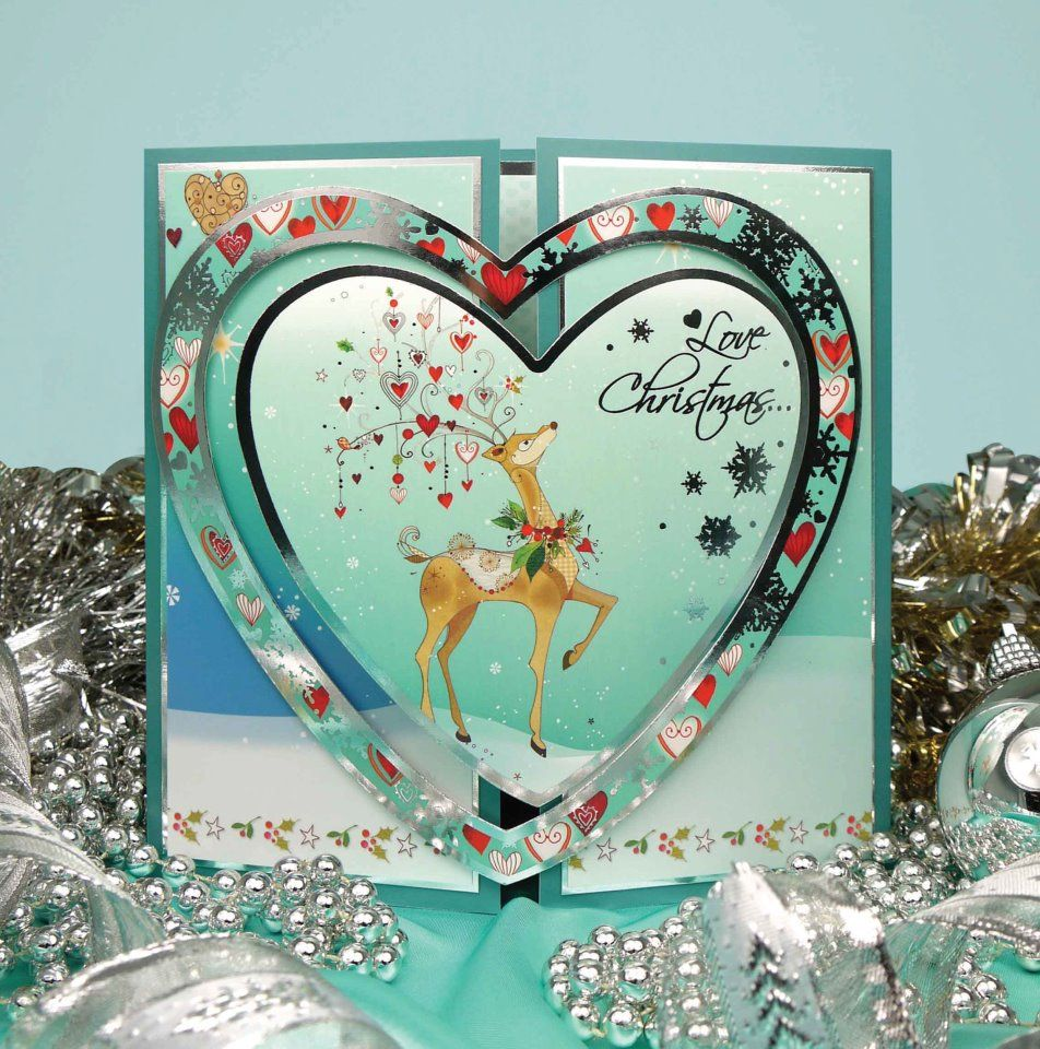 Christmas card ideas hunkydory pinterest cards for Pinterest christmas craft ideas