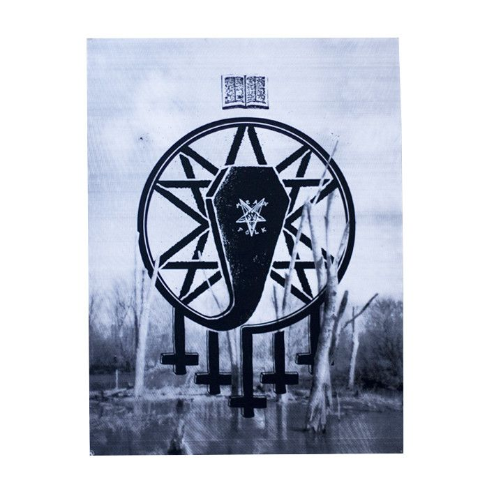 "Coffin 18"" x 24"" Print from Mean Folk"