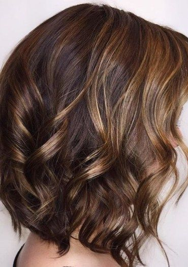 Caramel Hair Ideas For 2017 Therighthairstyles Honey Highlights Short Dark Brown