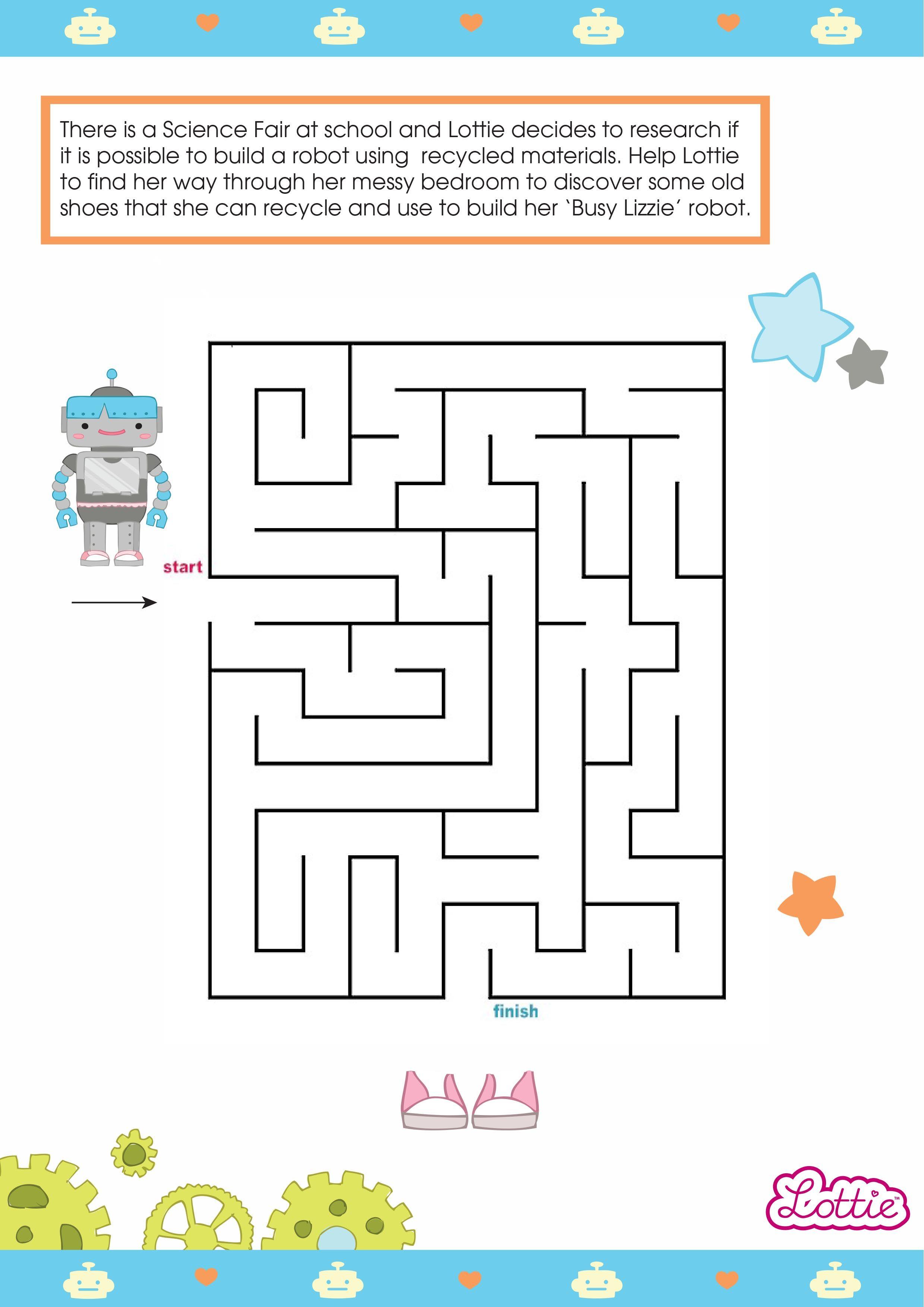 Robot Maze