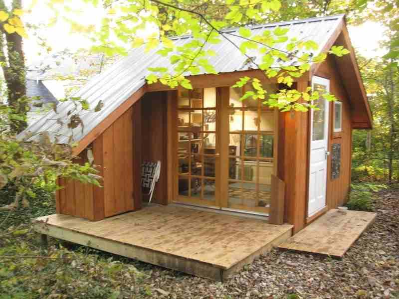 Cathy Johnson S Art Shed Shedworking Studio Living