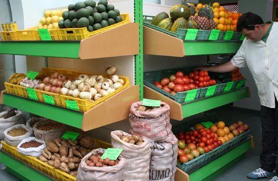 Mercado de Los Llanos