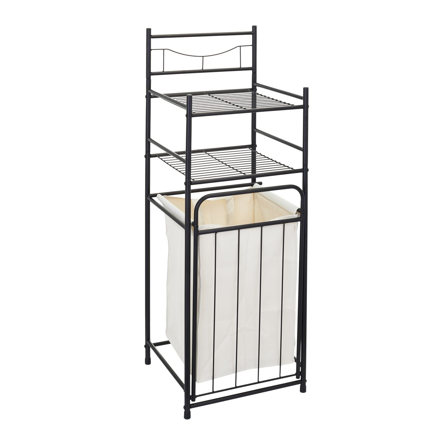 £19.99 The Range Laundry Storage Unit With Hamper ...
