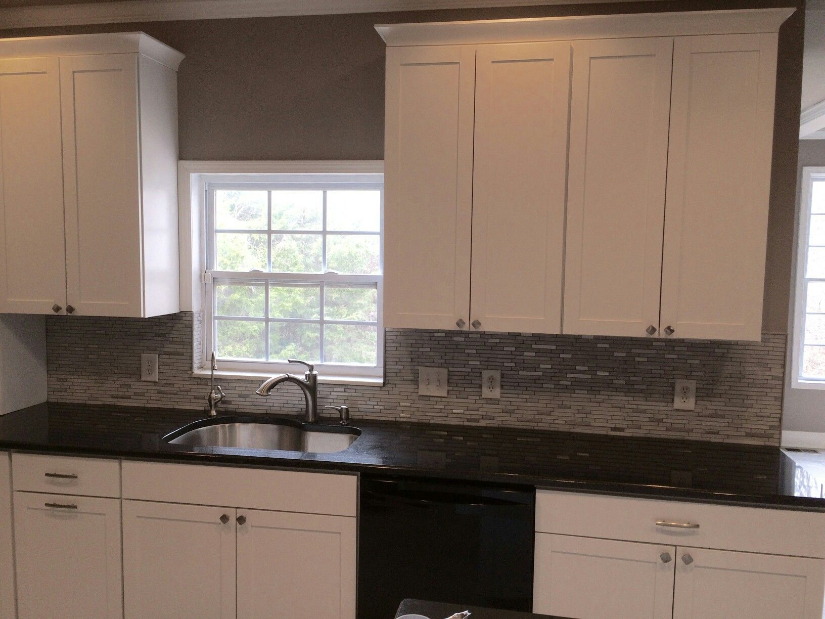 Aristokraft Cabinetryu0027s Brellin PureStyle White Kitchen Designed By Tina  Holland At Our Hoitt Avenue Kitchen And