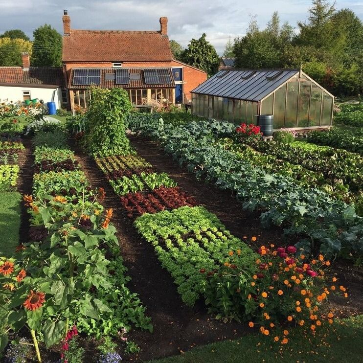 Potager Garden Design Ideas: Happycottage: My Blog Posts