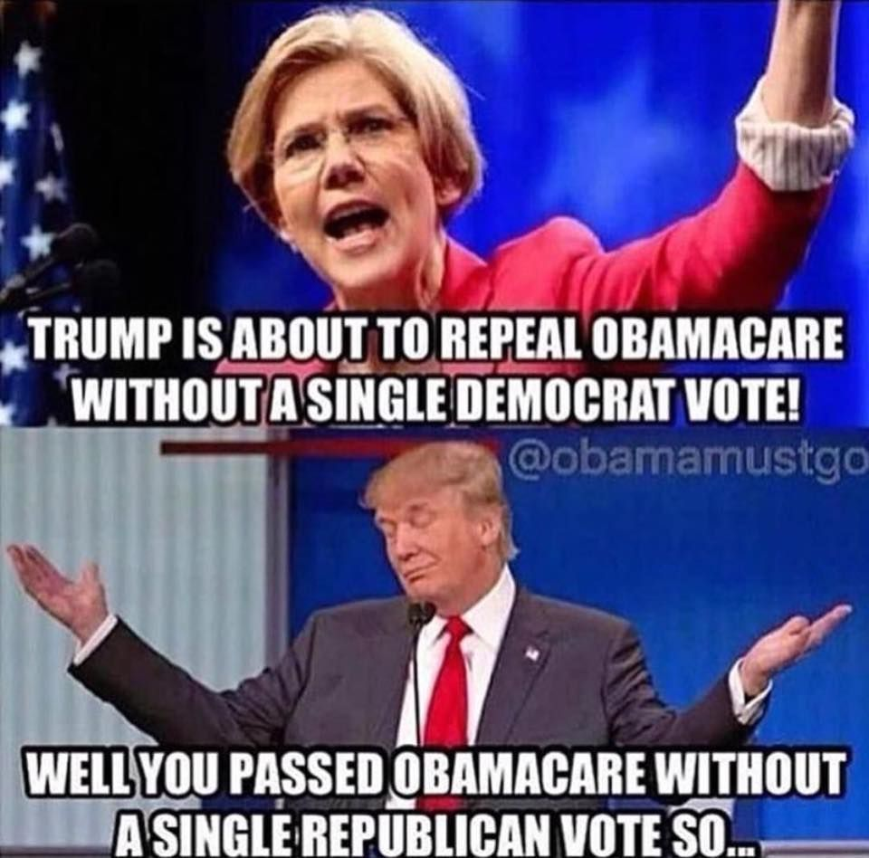 If it's wrong for Republicans Lady...then it was wrong for Democrats.  Do you really think we are stupid and forget what you lib/democrats did to get Obamacare ....closed door sessions, pass it before reading it, etc., etc.!!!