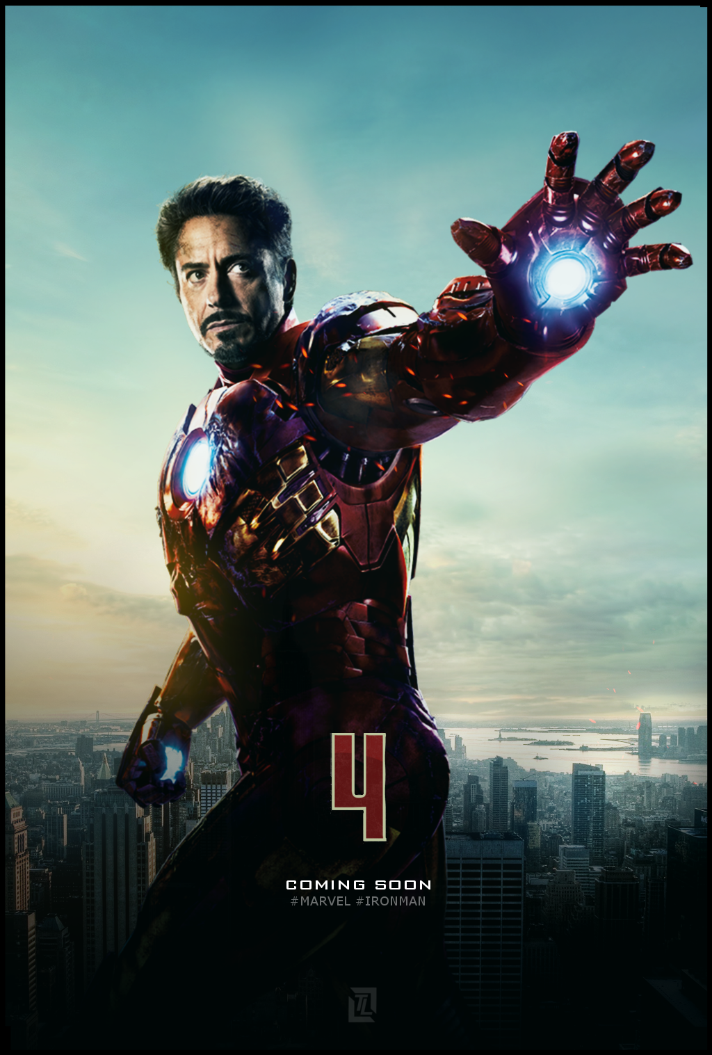 Iron Man 4 poster by tldesignn | Movie Posters & Art | Pinterest ...