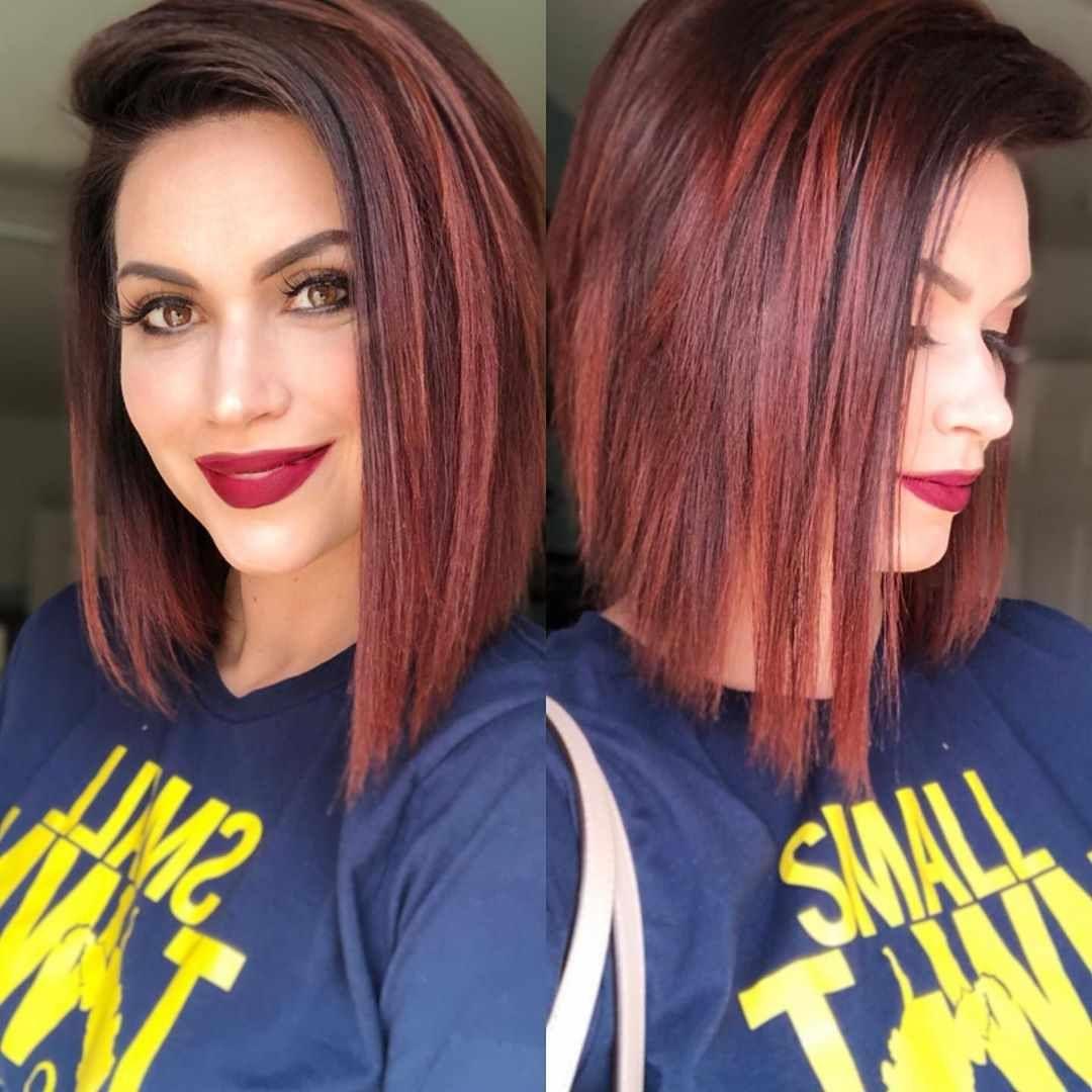 30 best fall hair colors for short hair 20192020 fall
