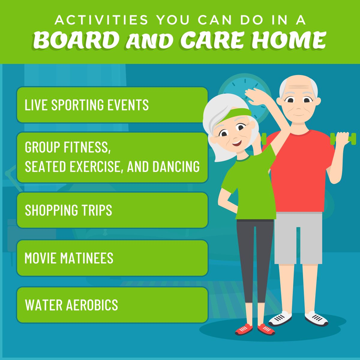Activities You Can Do in a Board and Care Home