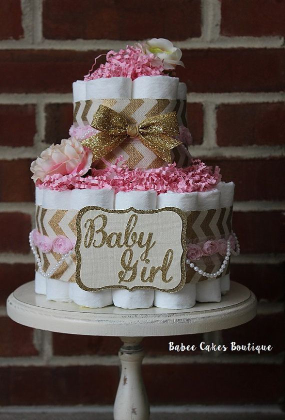Pink And Burlap Baby Shower Decorations  from i.pinimg.com