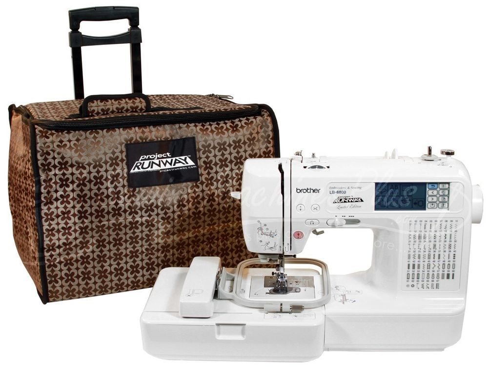 Brother Project Runway Embroidery Sewing Machine Lb40 Plus Laptop Interesting Brother Project Runway Sewing And Embroidery Machine