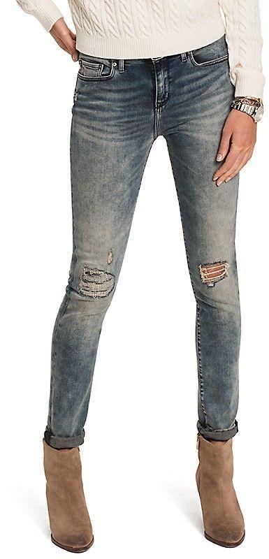 12bca655efc8 Tommy Hilfiger Regular Rise Skinny Fit Jean