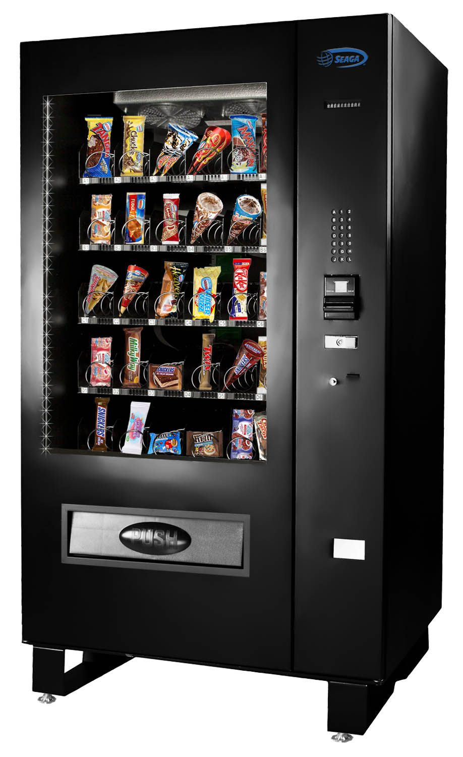Offering Frozen Food And Ice Cream From A Vending Machine Opens Profit Possibilities In Any Location