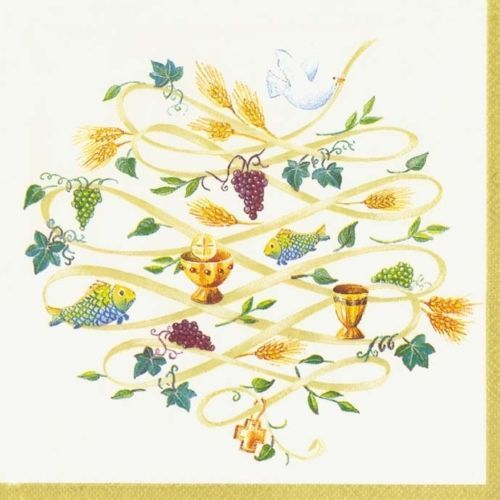 Ceremony-Gold-Wedding-IHR-lunch-traditional-paper-napkins-20-pack
