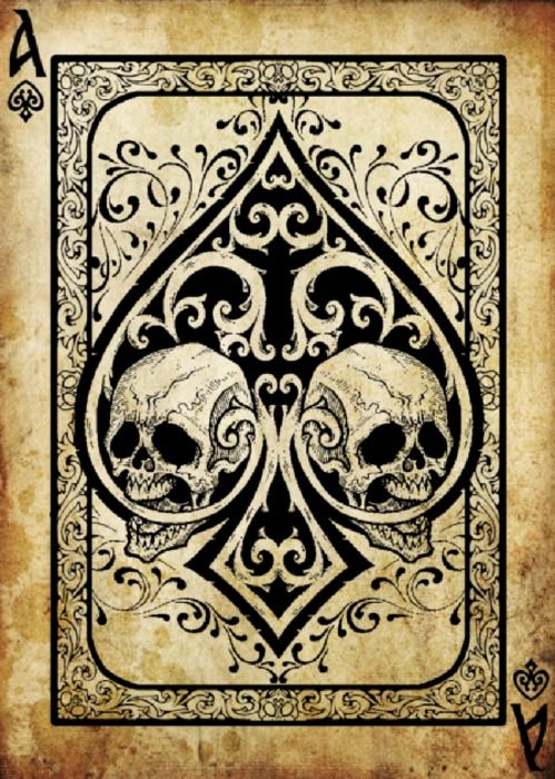 Ace Of Spade The Death Card Would Make A Great Tattoo As This Is A