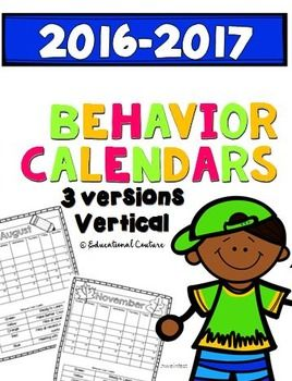 (If you own this product, you can re-download).  You can use these yearly themed calendars to document behavior, assignments, events and homework.  You can edit them as you wish.  I have included ones with a behavior chart and without.  Get these printed, copied and ready for the school year!