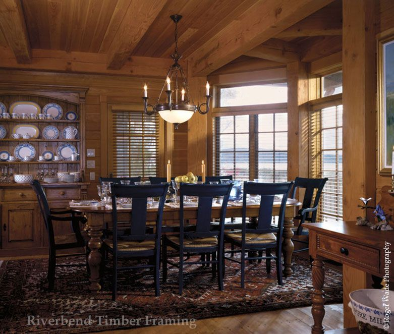 Upgrade Your Beach Homes Formal Dining Room With Timber Framing And A Water View