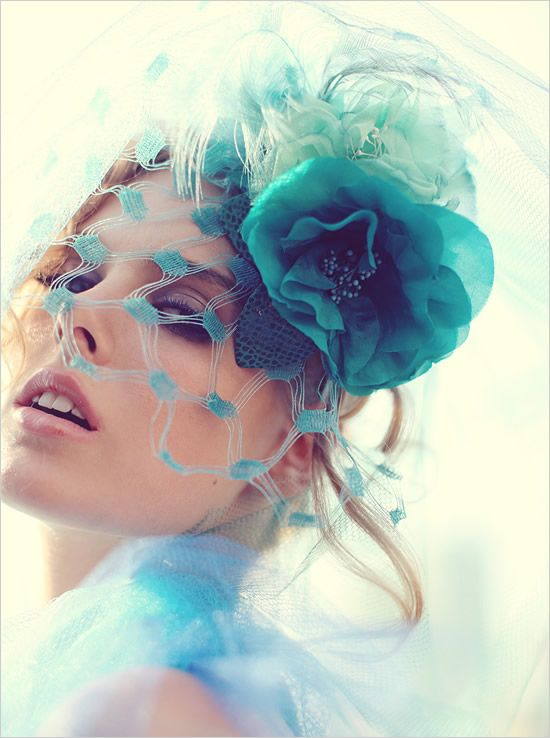 Leah C. Millinery - so cool!  (Available soon from The Wedding Factor at Architeqt!)