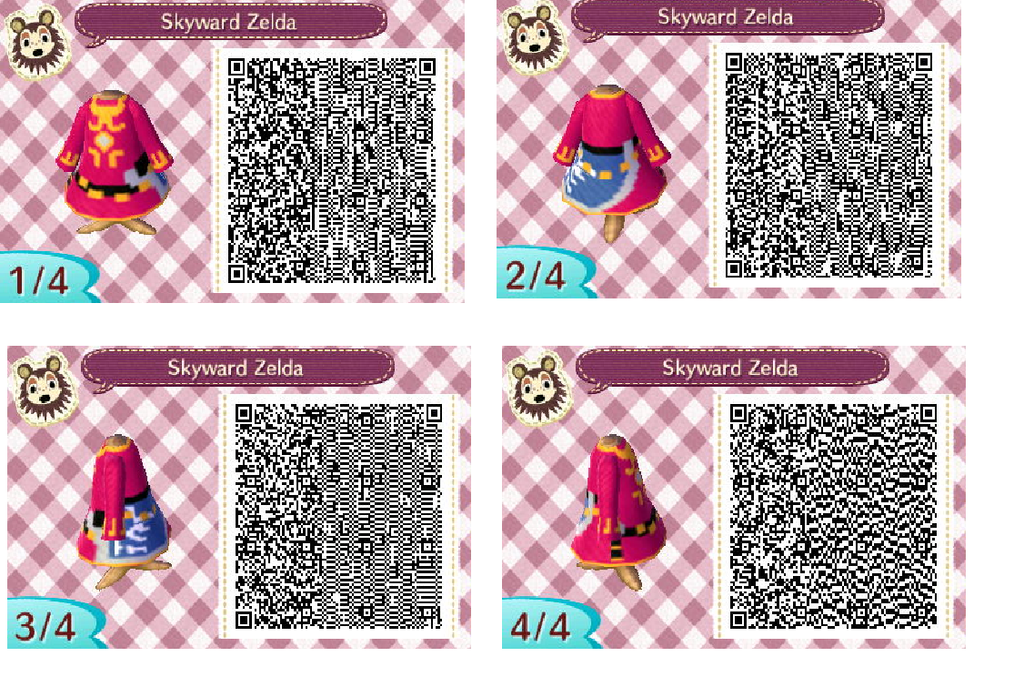 animal crossing new leaf zelda qr code | Animal Crossing ...