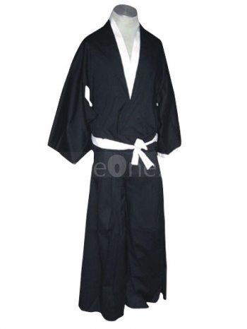 Bleach Ichigo Kurosaki Soul Reaper uniform cosplay costume at competitive  wholesale price.
