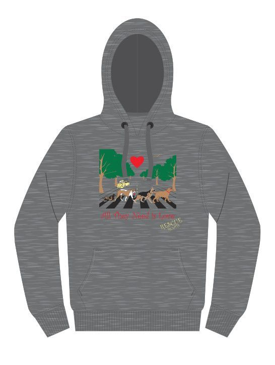 Rescue Road Hoodie Gray