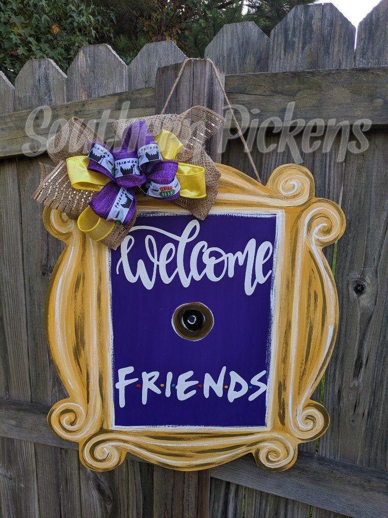 Friends (TV Show) Peephole Picture Frame Door