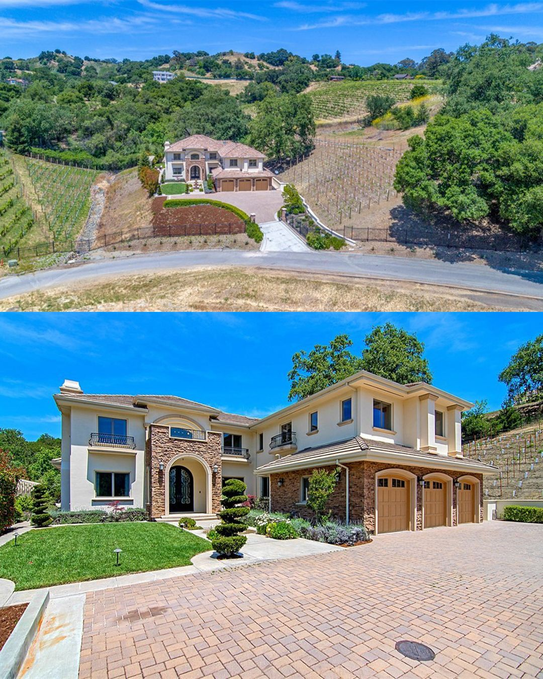 Welcome To This Spectacular Custom Built Mediterranean Style Home