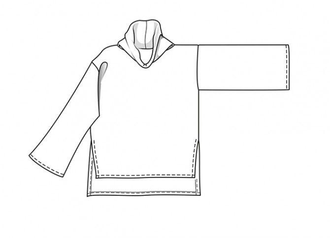 Burda Style Moda - Jersey   Poncho   Túnicas - COLECCIONES - MODA - TENDENCIAS