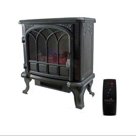 Duraflame 400 Sq Ft 1500w Electric Stove Faux Fireplace Heater W