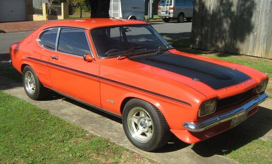 1970 Gt Capri Ford Capri