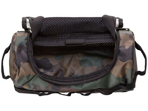 The North Face Base Camp Travel Canister - Small Military Green Woodland Print/TNF Black - 6pm.com
