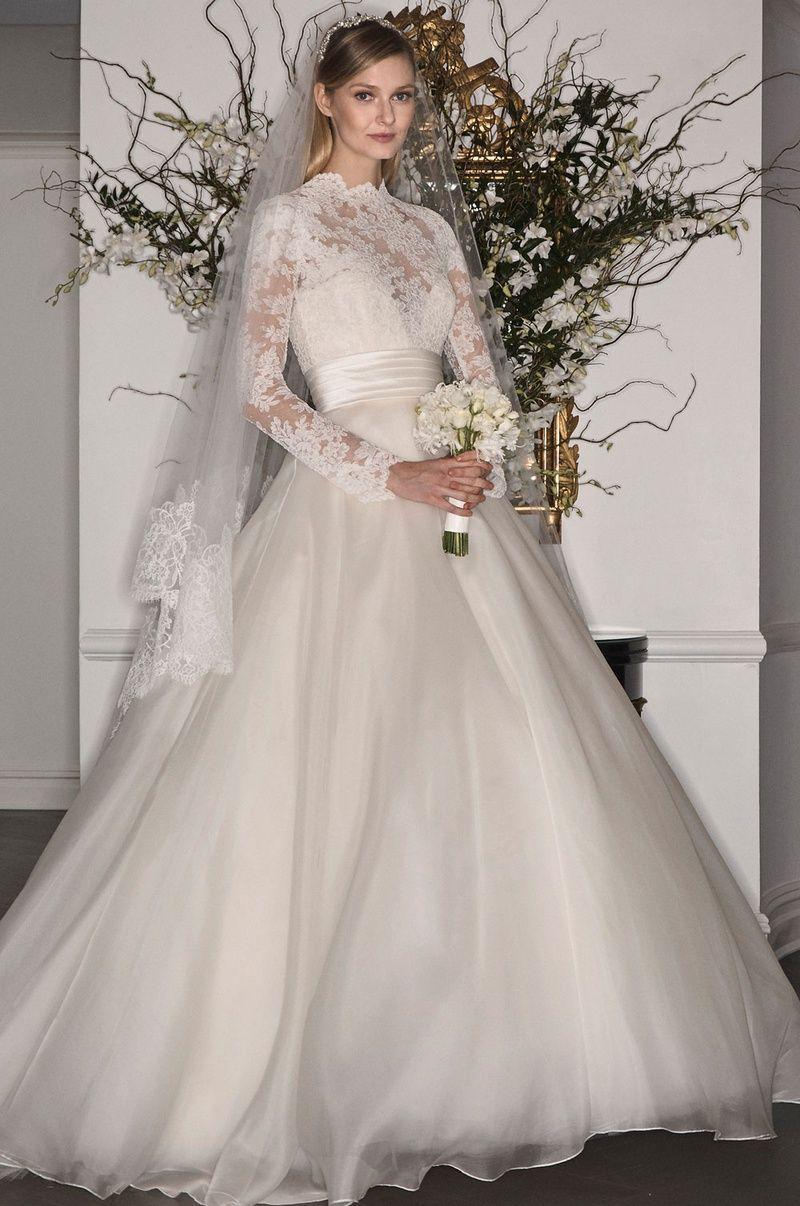 000ba859542b Grace Kelly-Inspired Gowns from Legends Romona Keveza Fall 2017 ...